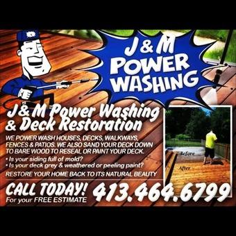 J&M power washing and deck restoration