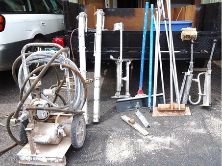 Large Assortment of Drywall Tools