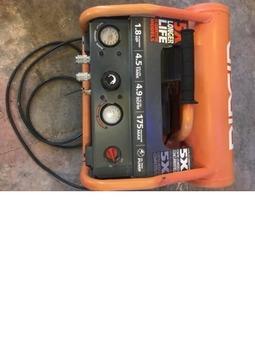 Rigid 4.5 gal 175psi electric air compressor